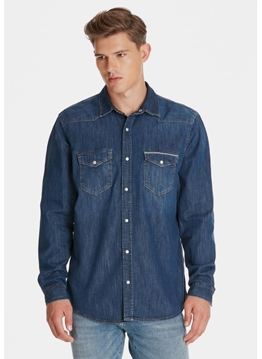 Mavi Erkek  Andy Mavi Black  Jean Gömlek 248429628 Mavi